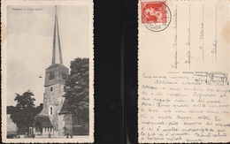 7999) BELGIE BELGIQUE COUILLET VIEILLE EGLISE VIAGGIATA 1956 - Charleroi