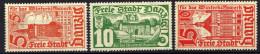 Danzig 1935 Mi 256-258 * [261016XIII]