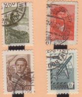 URSS  -  RUSSIA  -  EUROPA  4 SELLOS  AÑO 1961