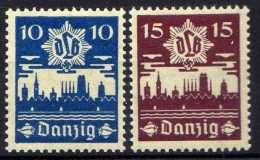 Danzig 1937 Mi 267-268 ** [261016XIII]
