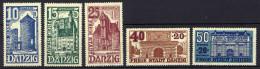Danzig 1936 Mi 262-266 * [261016XIII]