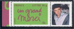 MERCI 2005 LOGO PATRICK BRUEL 3761A COTE MAURY 18 EUROS 37b LUXE