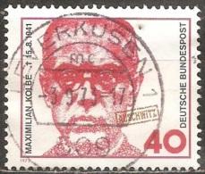 Allemagne - 1973 - Maximilien Kolbe - YT 621 Oblitéré