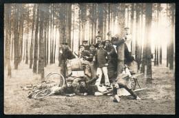 6795 - Alte Foto Ansichtskarte - Zeithain Übungsplatz 1913 - Uniform Soldaten - Kasernen