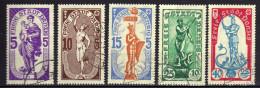 Danzig 1937 Mi 276-280, Gestempelt [261016XIII]