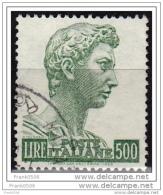 Italy 1957, San Giorgio By Donatello, 500L, Used