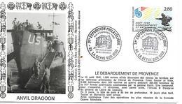 """83  LA SEYNE SUR MER   31° Exposition Philatélique """"50° Anniversaire De La Libération"""" à La Mairie  3/09/94"""