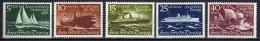 Danzig 1938 Mi 284-288 * Winterhilfswerk - Schiffe [261016XIII]