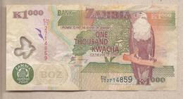 Zambia - Banconota Circolata Da 1000 Kwacha - 2006 - Polimero - Zambia
