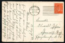 7519 - Alte Ansichtskarte - Stempel Liegnitz 1922 - Ottmar Zieher