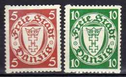 Danzig 1938 Mi 290; 292 D * [261016XIII]