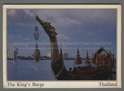 U6158 THAILAND THE KINGS BARGE VG (m) - Thaïland