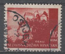 Croatia 1941. Scott #30 (U) Ozalj Castle * - Croatie