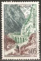 Algérie - 1962 - Gorges De Kerrata - YT 364 Oblitéré