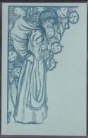 "CARTE  Ilustrée Par VIBERT - DE LA RARE SERIE "" I. P. C.C."" INTERNATIONAL POSTE- CARTE CLUB 1899 - Künstlerkarten"