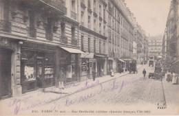 """75 Paris  5 Eme  """"  Rue Bertholet épicerie Deletang 22 Rue Bertholet """"  N°17 - Paris (05)"""