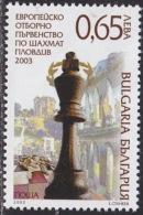 BULGARIA 2003 EVENTS Sport Chess EUROPEAN CHAMPIONSHIPS - Fine Set MNH