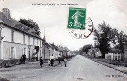 BELLOY-sur-SOMME: Route Nationale - Autres Communes