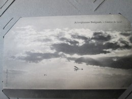 AEROPLANE BREGUET . COUCHER DE SOLEIL - Avions