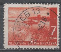 Croatia 1941. Scott #41 (U) Save River * - Croatie