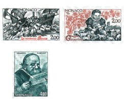 Ref. 77458 * MNH * - MONACO. 1984. 450th ANNIVERSARY OF THE FIRST PUBLICATION OF GARGANTUA BY RABELAIS AND OF THE BIRTH