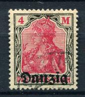 98361) DANZIG # 14 Gestempelt GEPRÜFT Aus 1920, 45.- €