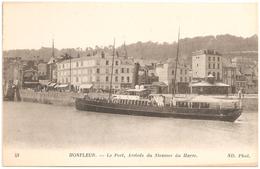 Honfleur - Le Port - Arrivée Du Steamer Du Havre - Honfleur