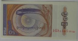 Billete Birmania. 50 Pyas. 1994. Sin Circular - Belarus