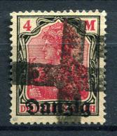 98365) DANZIG # 14 Gestempelt GEPRÜFT Aus 1920, 45.- €