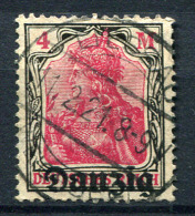 98366) DANZIG # 14 Gestempelt GEPRÜFT Aus 1920, 45.- €