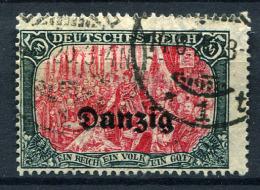98369) DANZIG # 15 Gestempelt GEPRÜFT Aus 1920, 45.- €