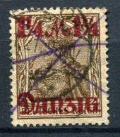 98372) DANZIG # 44 I Gestempelt GEPRÜFT Aus 1920, 20.- €