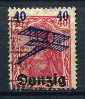 98375) DANZIG # 50 Gestempelt GEPRÜFT Aus 1920, 14.- €