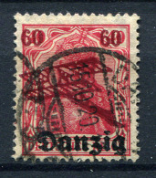 98376) DANZIG # 51 Gestempelt GEPRÜFT Aus 1920, 14.- € - Danzig