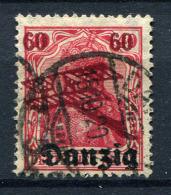 98376) DANZIG # 51 Gestempelt GEPRÜFT Aus 1920, 14.- €