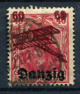 98377) DANZIG # 51 Gestempelt GEPRÜFT Aus 1920, 14.- €