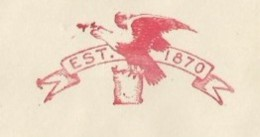 EMA METER STAMP FREISTEMPEL FRANQUEO MECANICO SAINT LOUIS USA 1952 - Eagle Bird Oiseaux Vogel Uccello Uccelli Fauna