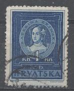 Croatia 1943. Scott #56 (U) Catherine Zrinski * - Croatie