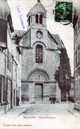 Cpa (55)  Bar-le-duc - Temple  Protestant - Bar Le Duc