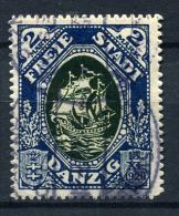 98384) DANZIG # 59 Gestempelt GEPRÜFT Aus 1921, 25.- €