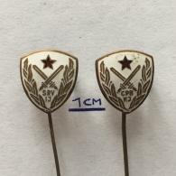Badge (Pin) ZN003583 - Army (Military) War Veterans Association Of Yugoslavia - Militari