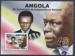 Angola - 2015 - Independencia Nacional / 40 Anos / Bloco  - MNH / ( ** )