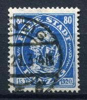 98389) DANZIG # 65 Gestempelt GEPRÜFT Aus 1921, 28.- €