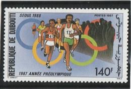 DJIBOUTI N° 638 Neuf **