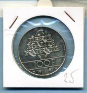 1987 100 Francs LAFAYETTE KM# 962 - N. 100 Francs