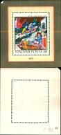 84225) Ungheria-1971-miniatura Della Chroniqueenluminee-BfF -n.90-nuov0
