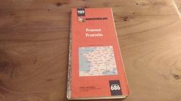 61:MICHELIN N° 989 FRANCE - Carte Stradali