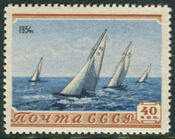USSR 1954. SC #1678 VF/MNH. Sport. Sailing. (B-13)