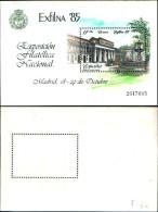 84236) Spagna-1985-exilna 85-espoizione Filatelica Di Madrid-BF-n.34-nuovo - Spagna