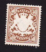 Bavaria, Scott #69, Mint No Gum,Coat Of Arms, Issued 1888 - Bavaria